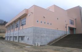 寺泊中学校武道場